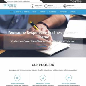 Business Corner | Blog Theme | Post Theme | Themescorners